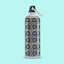 White Aluminium Bottle