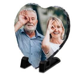 Heart Photo Granite Slate