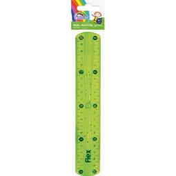 Flexi Plastic Ruler 15cm