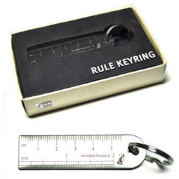 Ruler Keyring