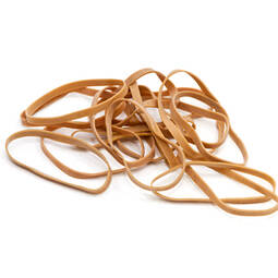 Thick Rubber Bands 80mm – bag of 1kg